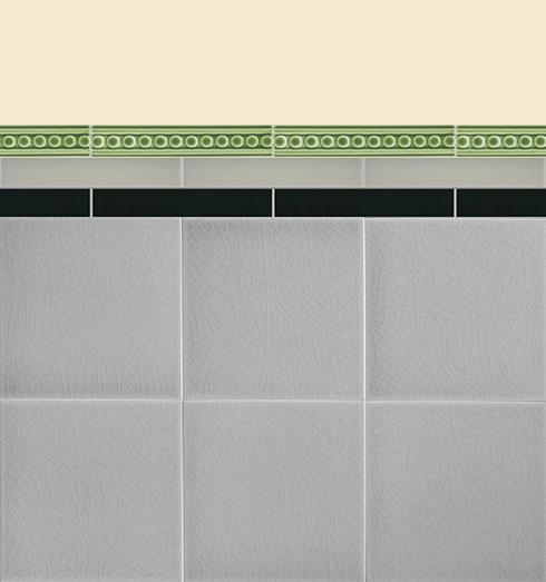 Wall tiles Borders, base tiles and trim pieces Verlegebeispiel B 1.11