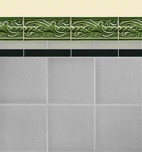 Wall tiles Borders, base tiles and trim pieces Verlegebeispiel B 11.28