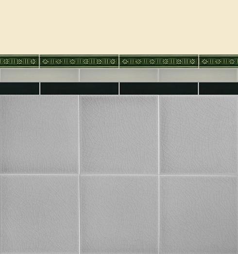 Wandfliesen Bordüren und Sockelfliesen Verlegebeispiel B 12.34