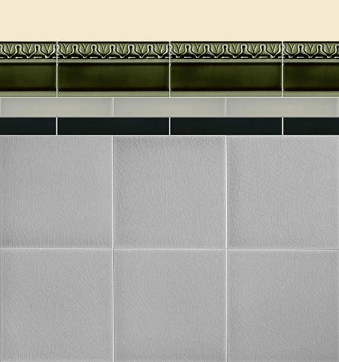 Wall tiles Borders, base tiles and trim pieces Verlegebeispiel B 16.34