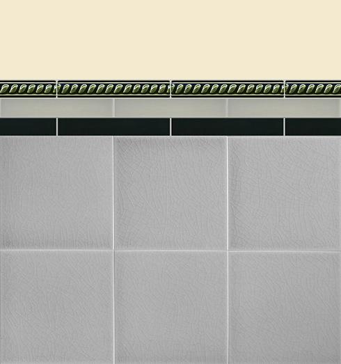 Carreaux muraux Bordures et plinthes Verlegebeispiel B 17.34