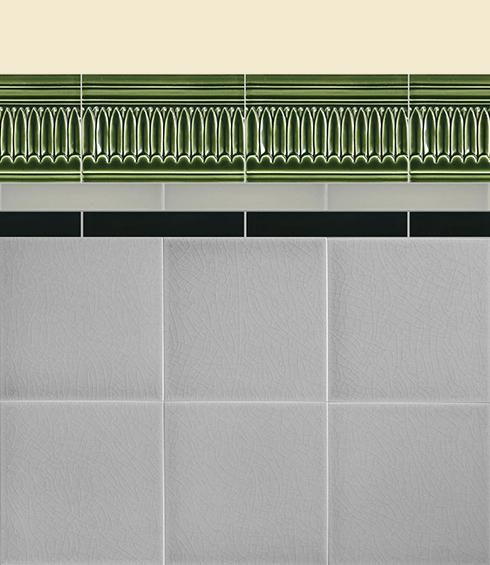 Carreaux muraux Bordures et plinthes Verlegebeispiel B 2.28