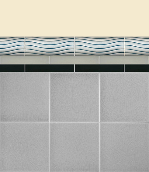 Wall tiles Borders, base tiles and trim pieces Verlegebeispiel B 29.609