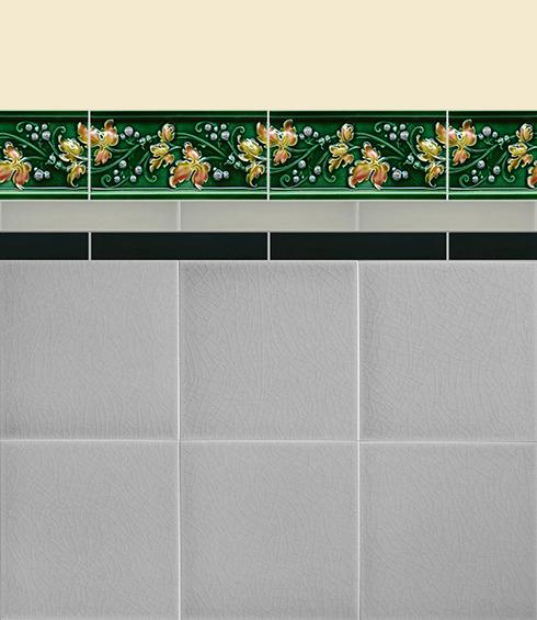 Carreaux muraux Bordures et plinthes Verlegebeispiel B 5