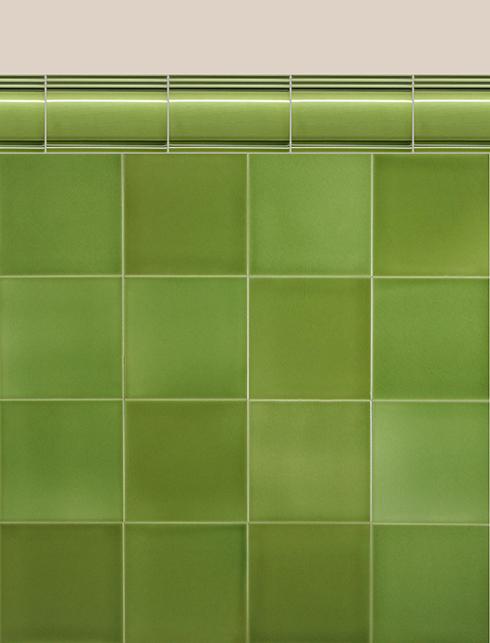 Wall tiles Borders, base tiles and trim pieces Verlegebeispiel BTG 2.11