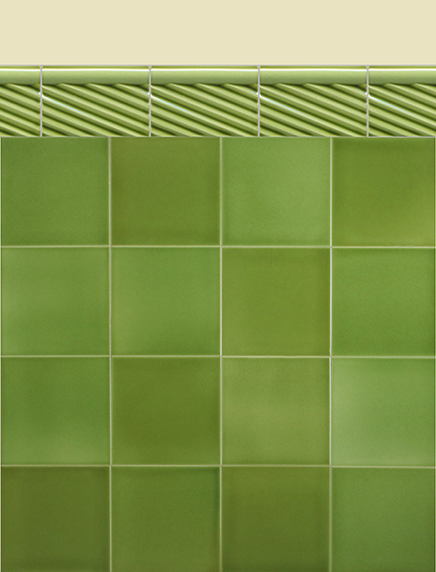 Wall tiles Borders, base tiles and trim pieces Verlegebeispiel BTG 4.11