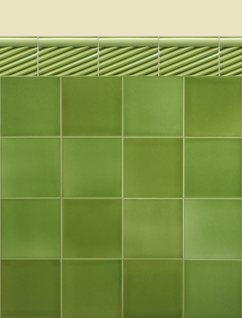Wall tiles Borders, base tiles and trim pieces Verlegebeispiel BTG 5.11