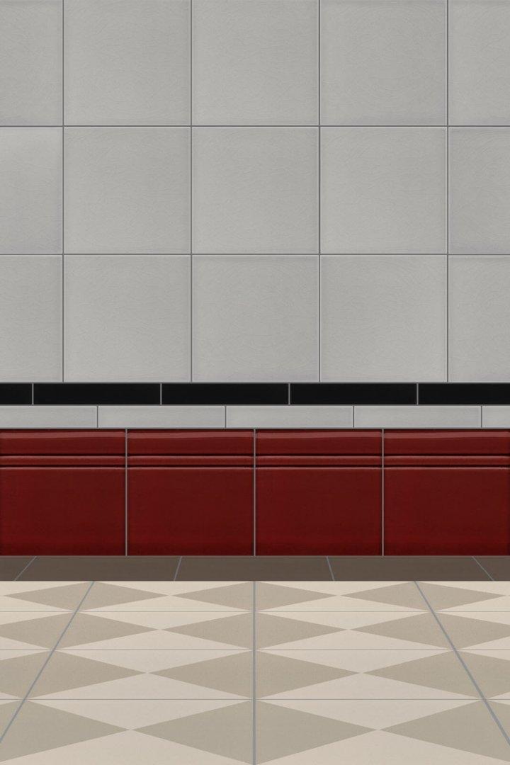 Wall tiles Borders, base tiles and trim pieces Verlegebeispiel SOF 5.405