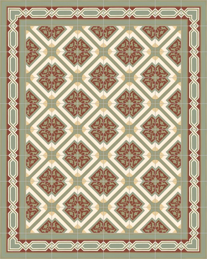 Floor tiles Floor Tiles multi-coloured Layouts and patterns SF 556 I