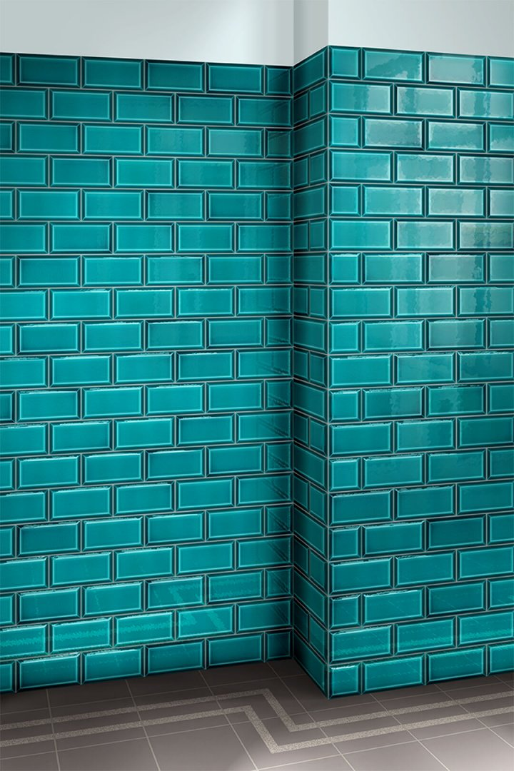 Wall tiles single-coloured Verlegebeispiel F 10.41