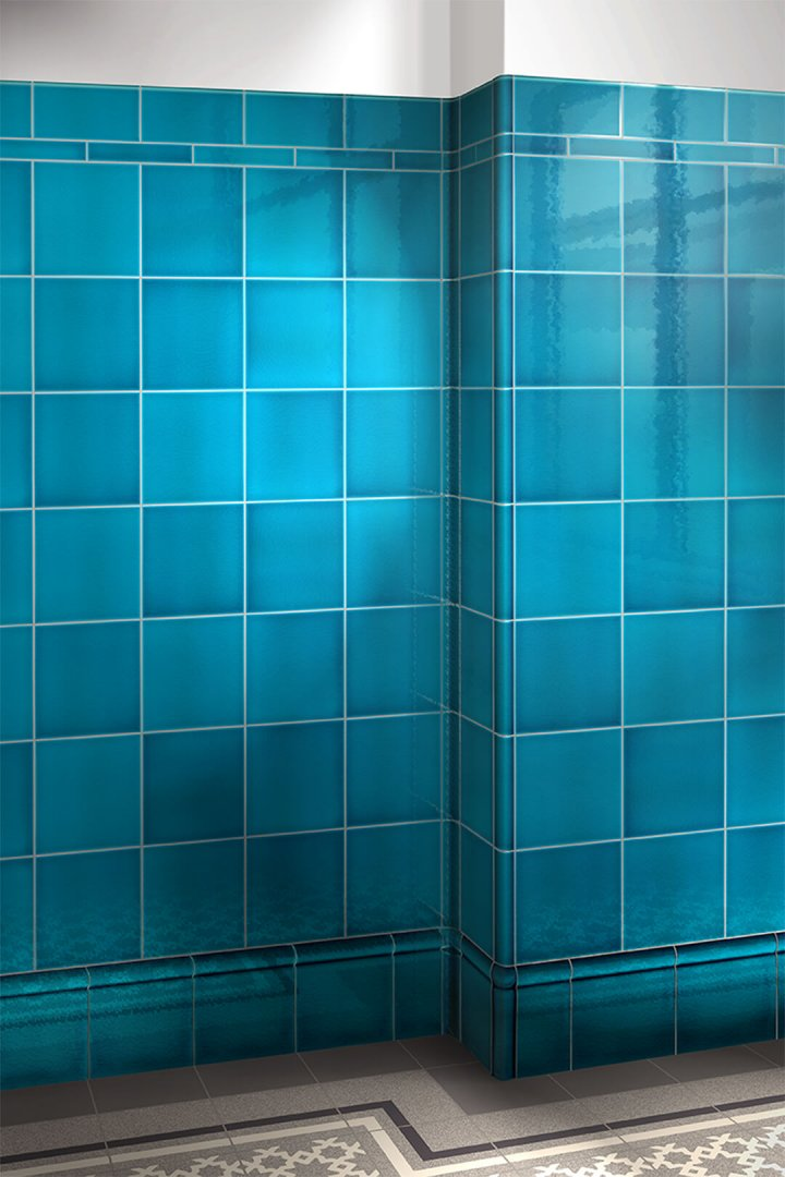 Wall tiles single-coloured Verlegebeispiel F 10.605