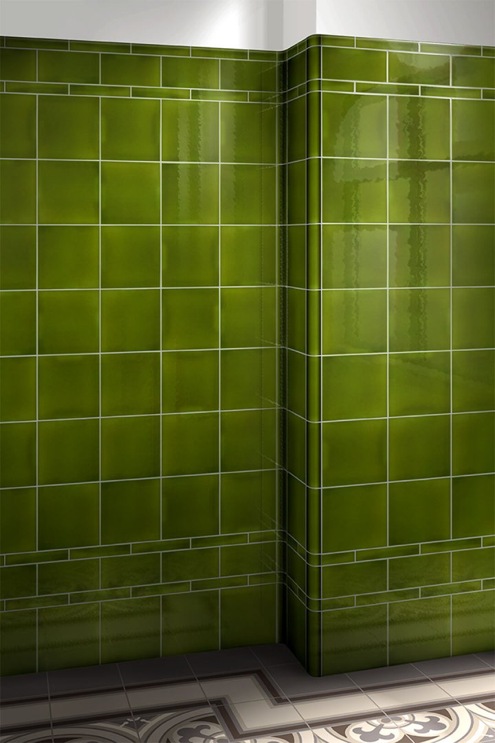 Wall tiles single-coloured Verlegebeispiel F 10.9