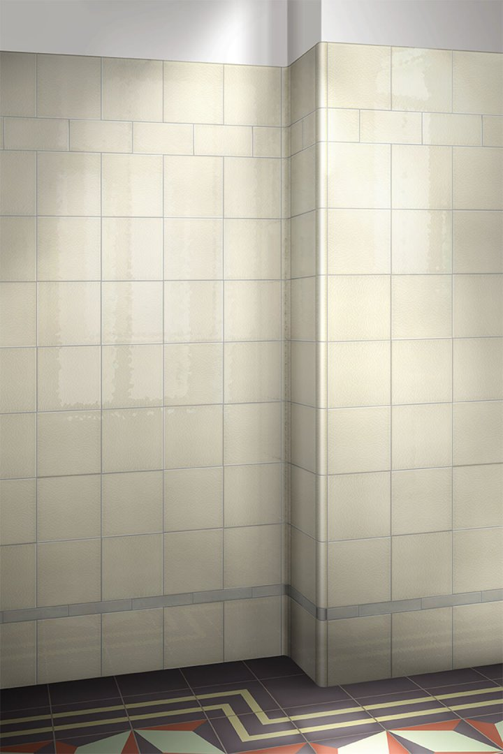 Wall tiles single-coloured Verlegebeispiel F 10.519