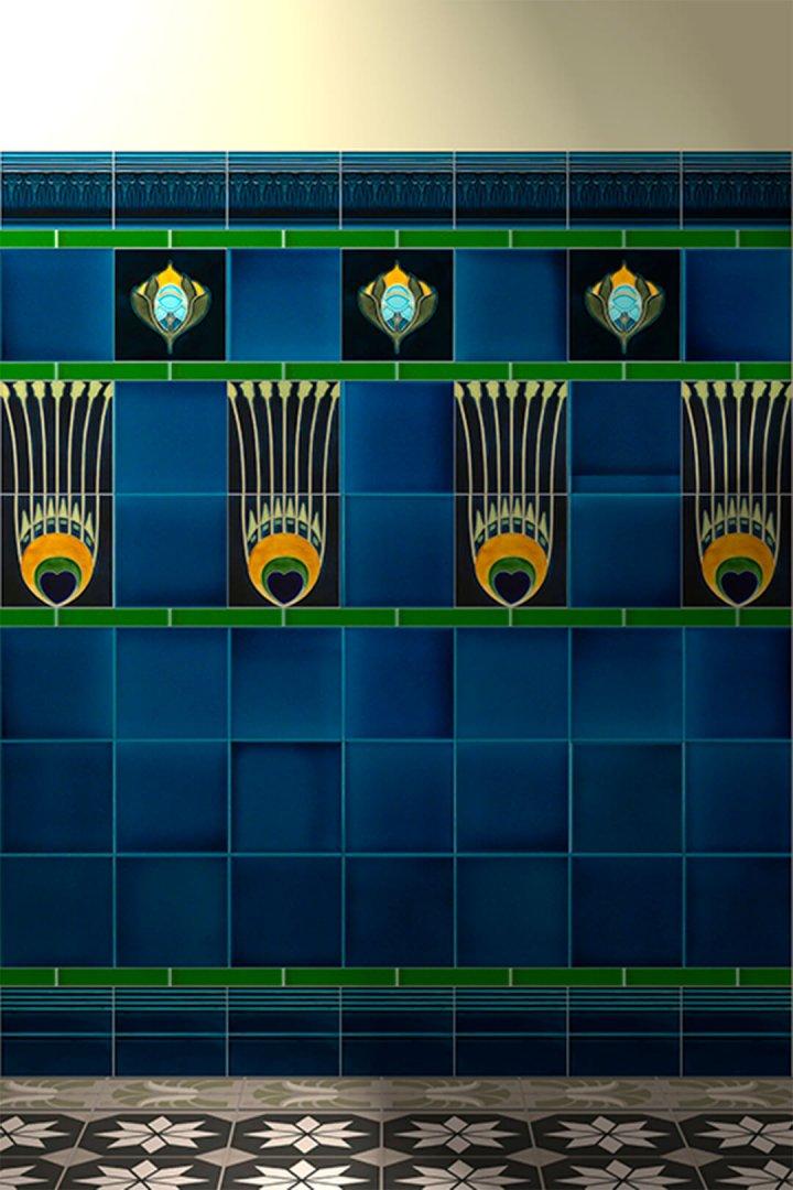 Carreaux muraux  Avec motifs Verlegebeispiel F 21 V2