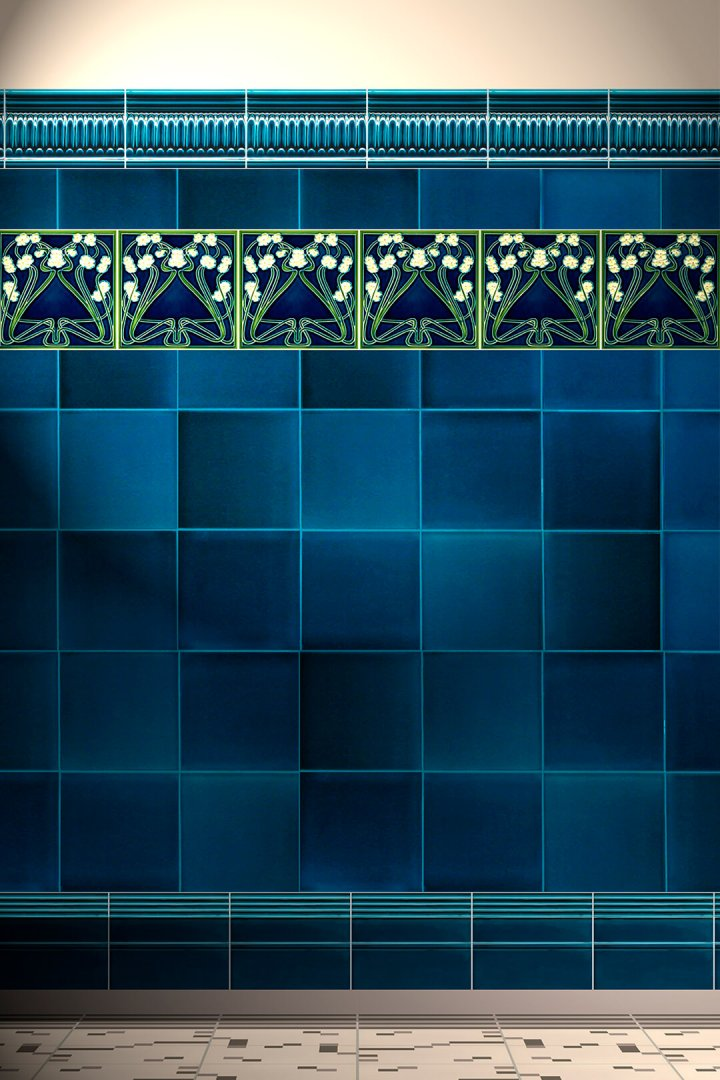 Carreaux muraux  Avec motifs Verlegebeispiel F 99 V1