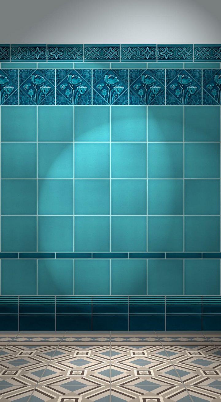 Wall tiles Tiles decorated Verlegebeispiel F 85.41