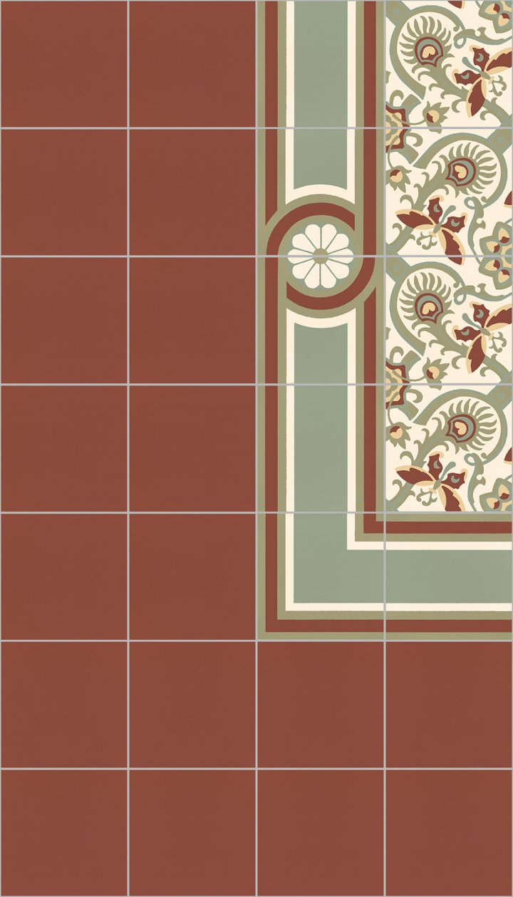 Floor tiles Floor Tiles single-coloured Layouts and patterns SF 10.25 S rand