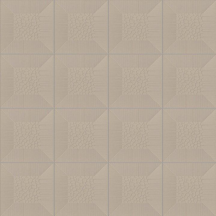 Bodenfliese mit Reliefdekor SF 7.4
