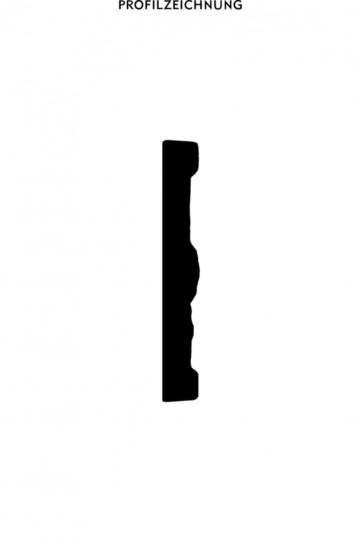 Profil der Bordüre B 11