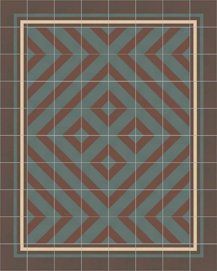 Floor Tiles multi-coloured 214 B