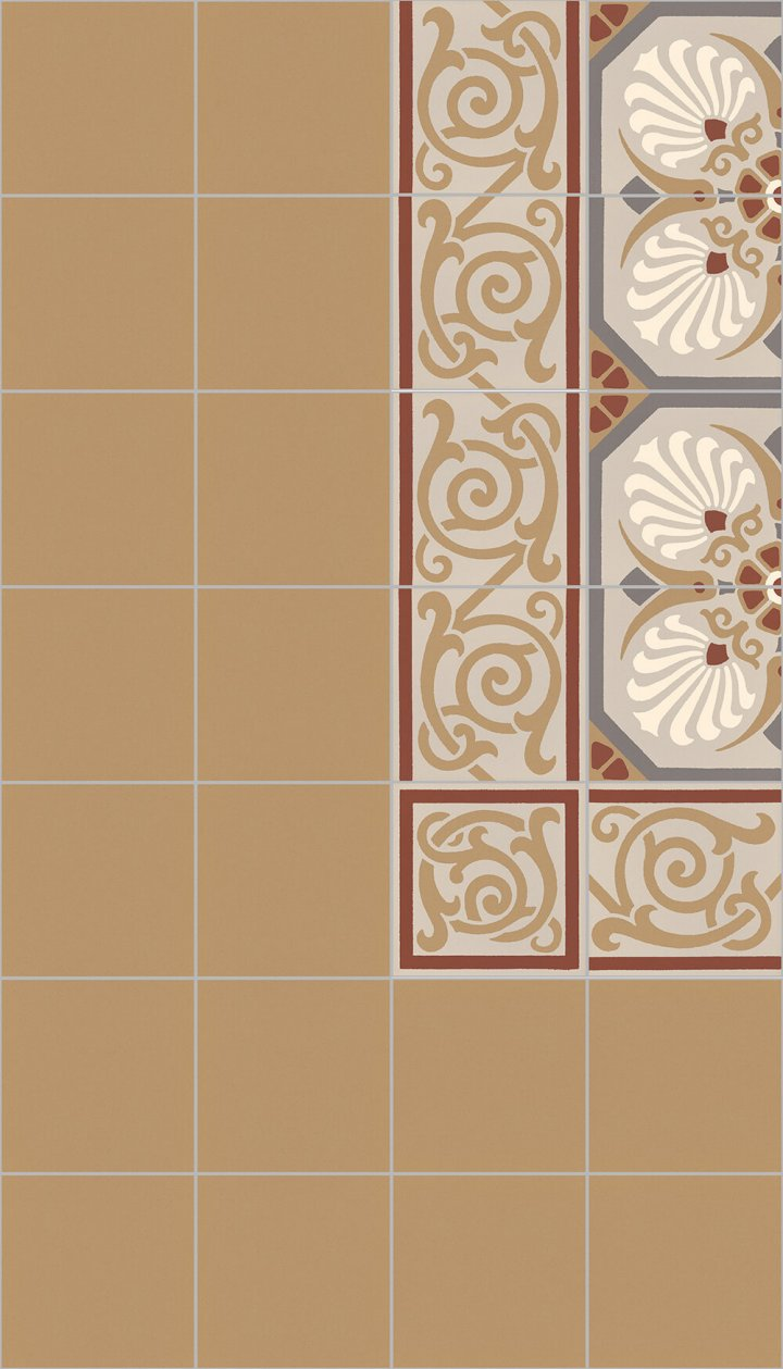 Layouts and patterns SF 558 D