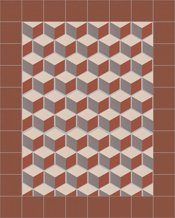 Carreaux hexagonal SF 317 F