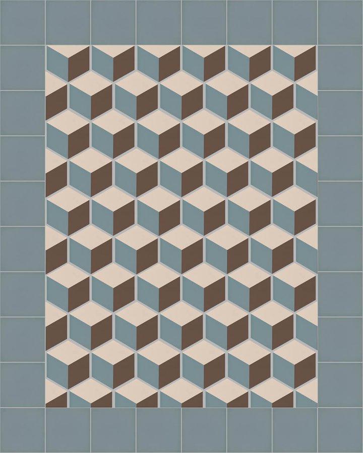 stoneware hexagonal SF 317 A