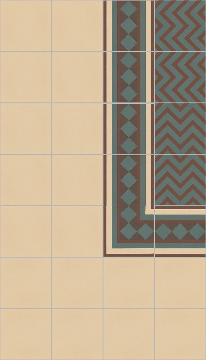Floor Tiles multi-coloured 216 B