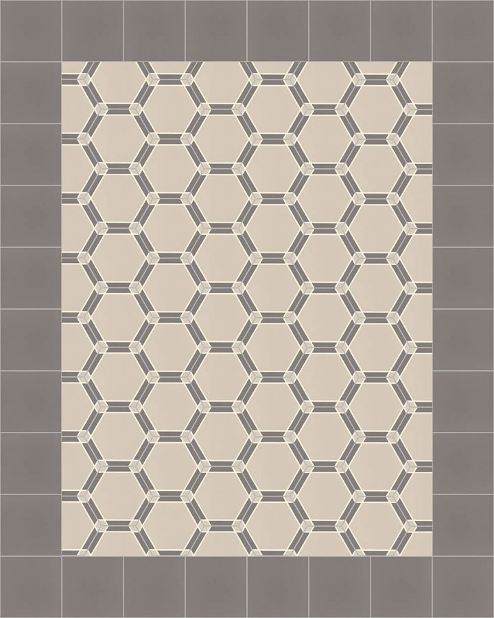 Carreaux hexagonal SF 1731 E