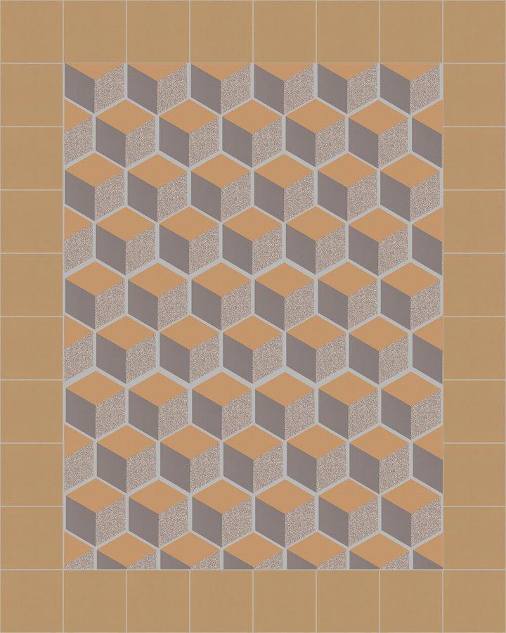 stoneware hexagonal SF 317 C