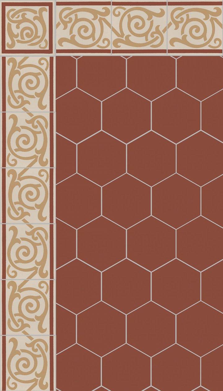 Carreaux hexagonal SF 17.25 S