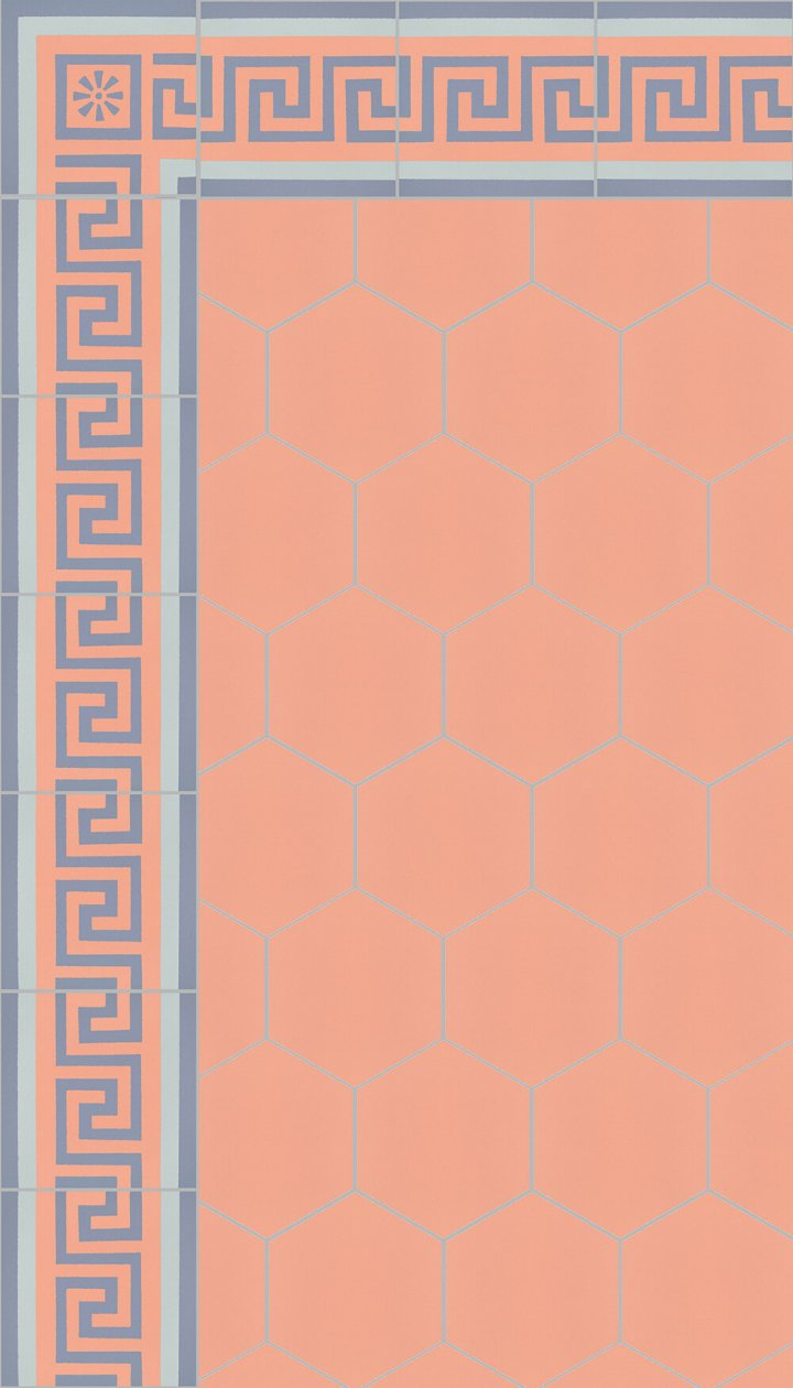 floor tiles hexagonal SF 17.16 S