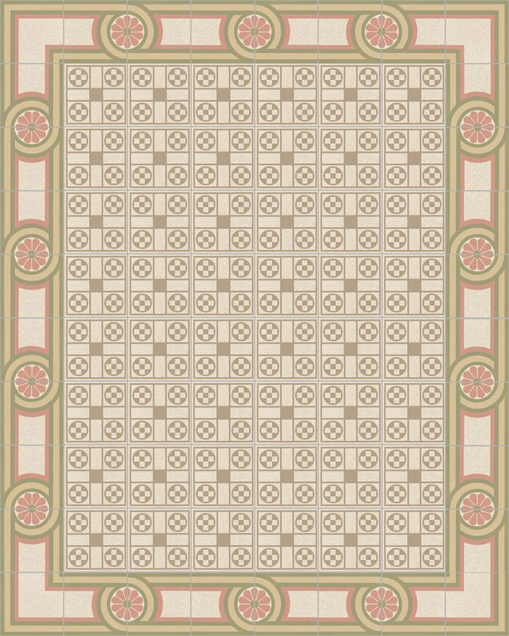 Layouts and patterns SF 505 P e