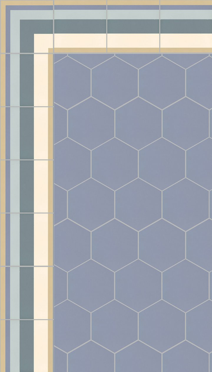 floor tiles hexagonal SF 17.15 S