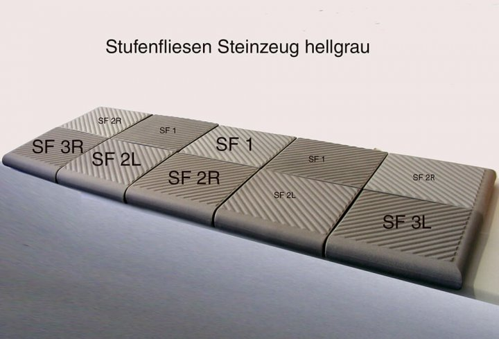 Carreau pour escalier SF 2L.1
