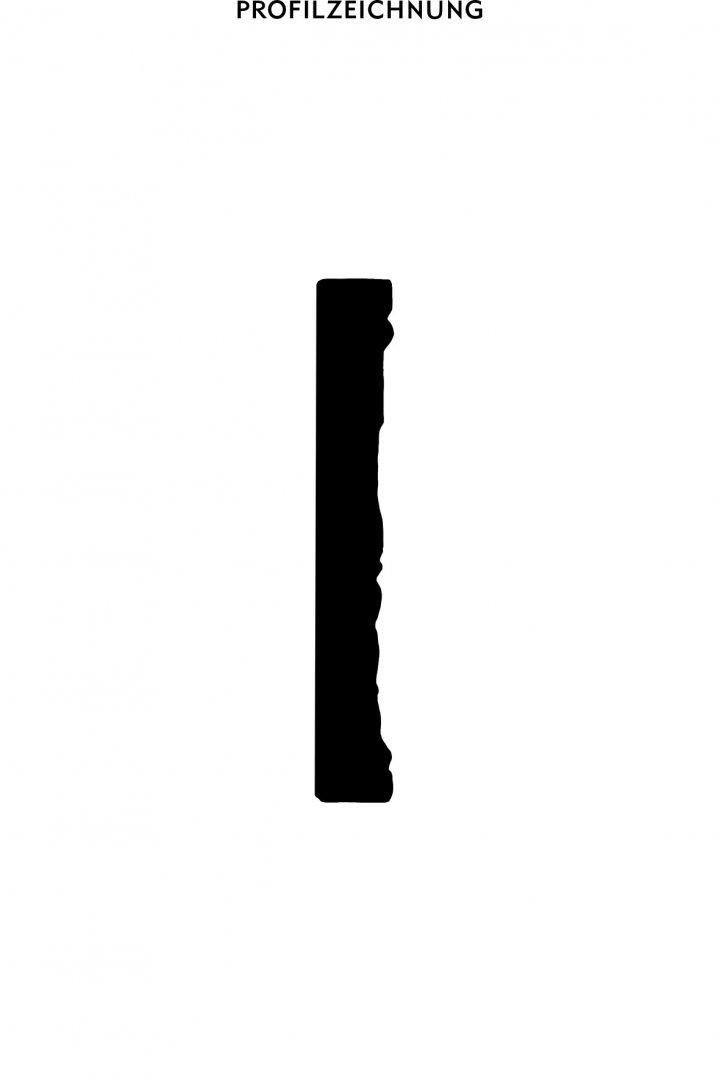 Profil der Bordüre B 10
