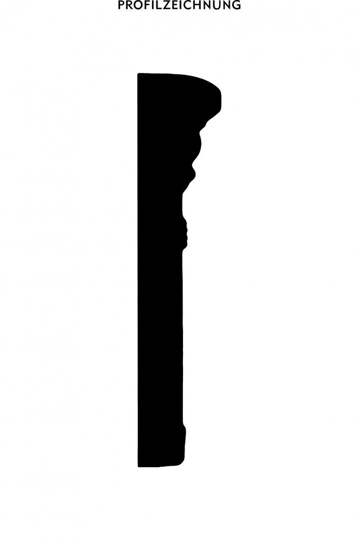 Profil der Bordüre B 14