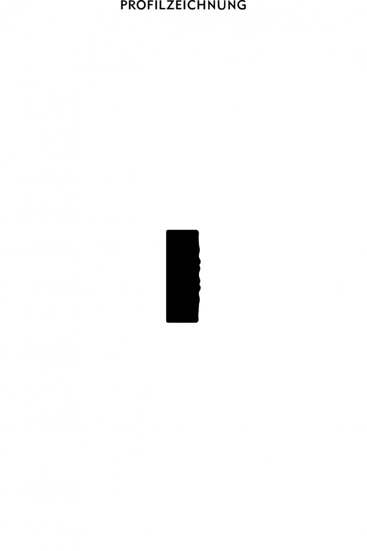 Profil der Bordüre B 15