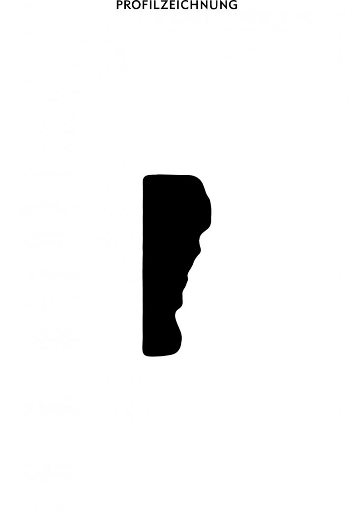 Profil der Bordüre B 18