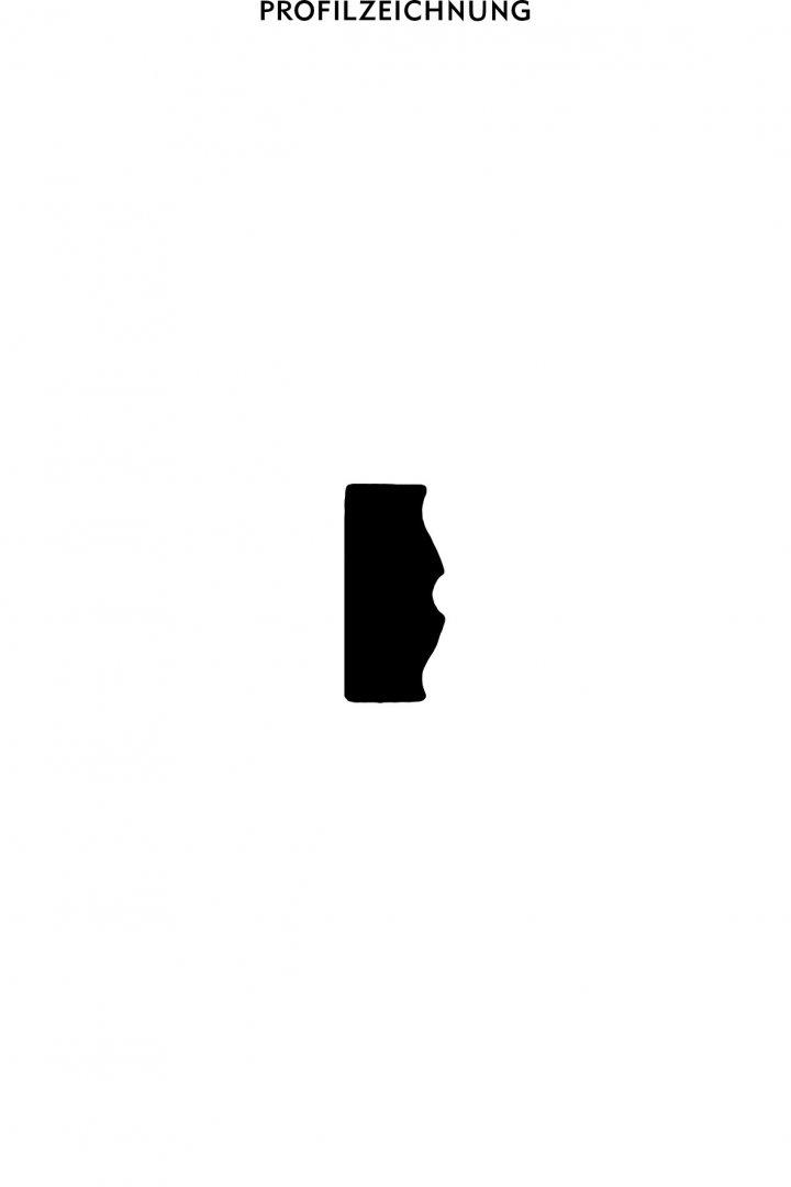 Profil der Bordüre B 24