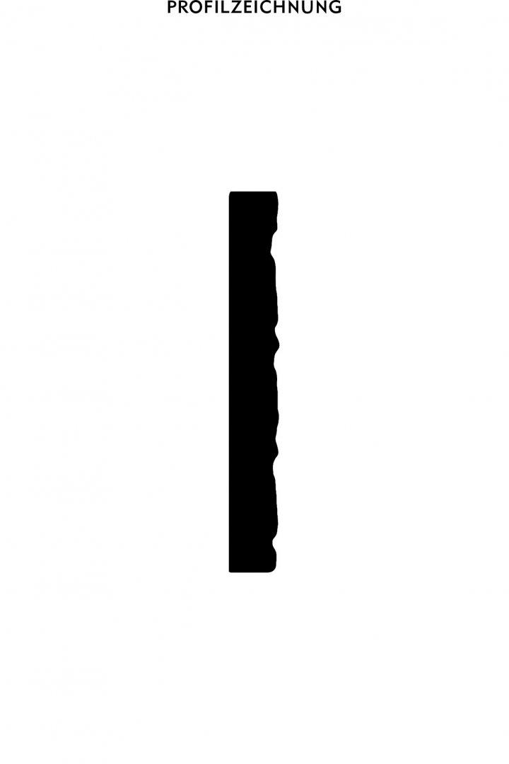 Profil der Bordüre B 30
