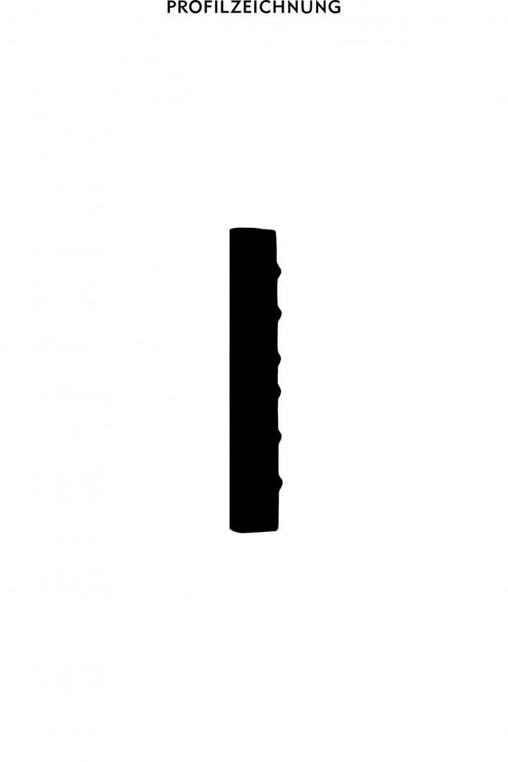 Profil der Bordüre B 32