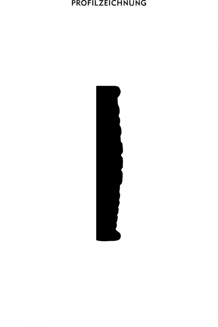 Profil der Bordüre B 33