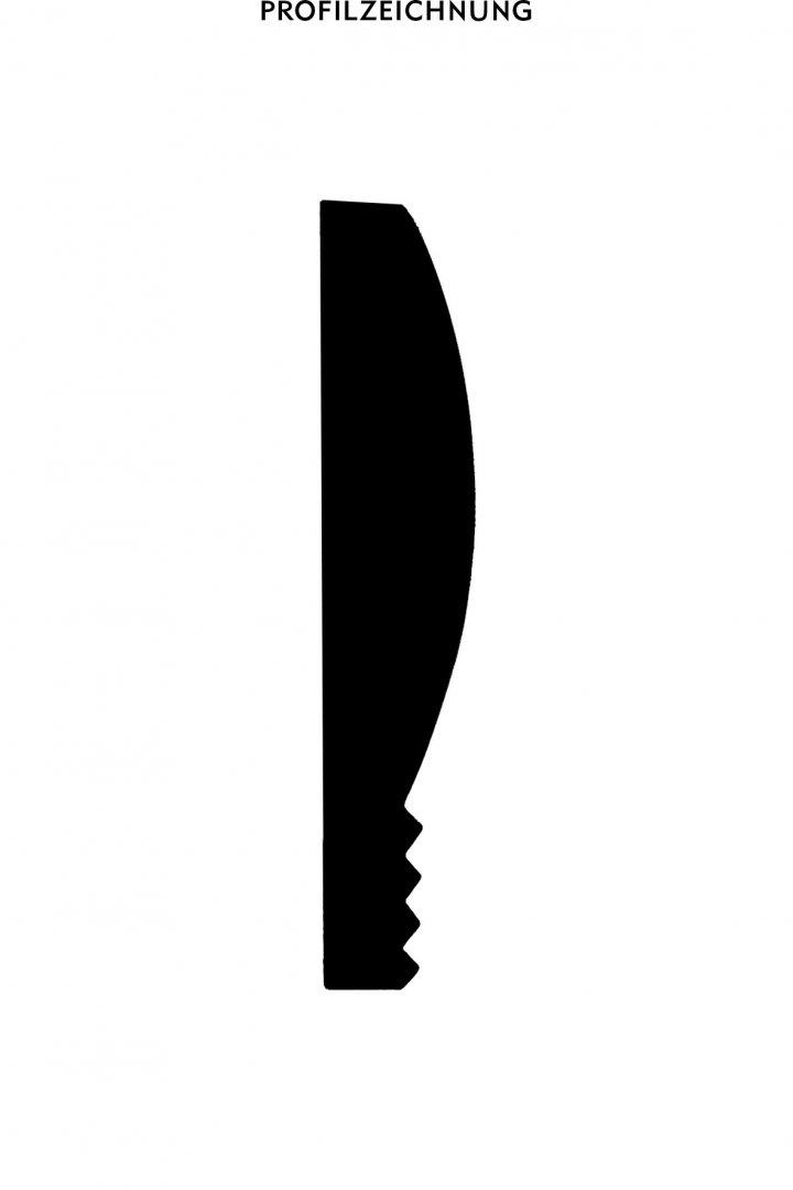 Profil der Bordüre BTG 1