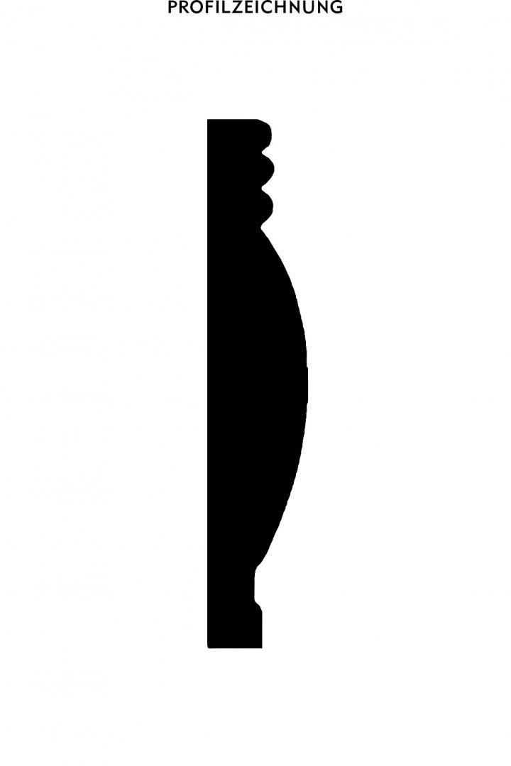 Profil der Bordüre BTG 2