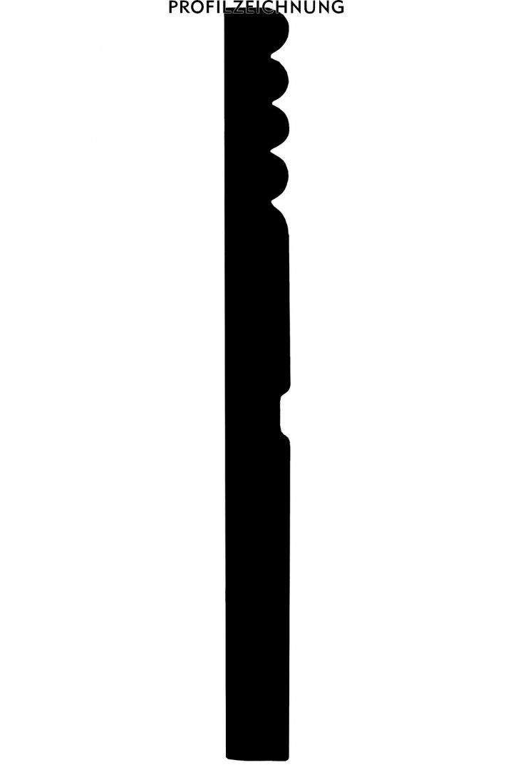 Profil der Sockelleiste SOF3