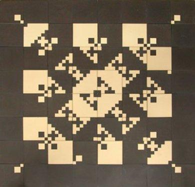 Bodenfliesen Fliesenteppich PSH 8  PSH 8 (1,8m²)