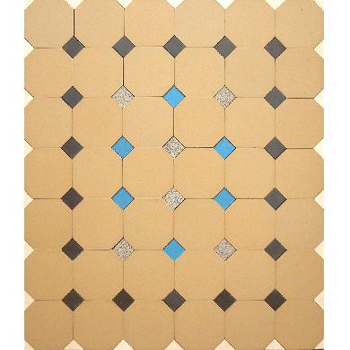 Bodenfliesen Fliesenteppich PMS 78  PMS 78      (1,1 m²)