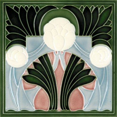 Art Nouveau tile F 136 V2