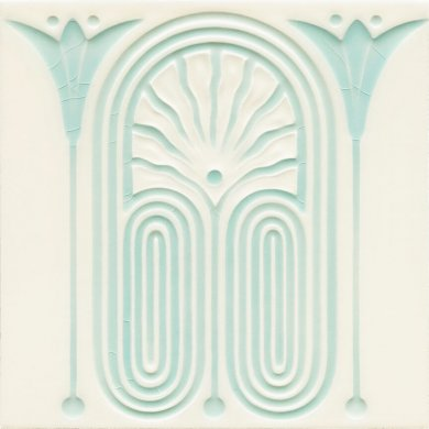 Carreau Art Nouveau F 191